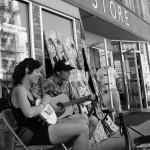 Sidewalk Music during KEOL Fest / Photo by Robin Spangler